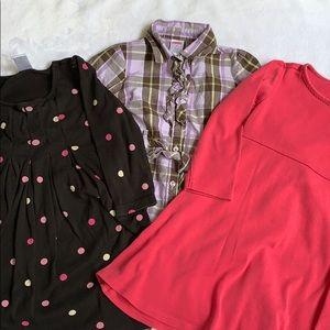 Bundle of 3 Gymboree Dresses Size 4